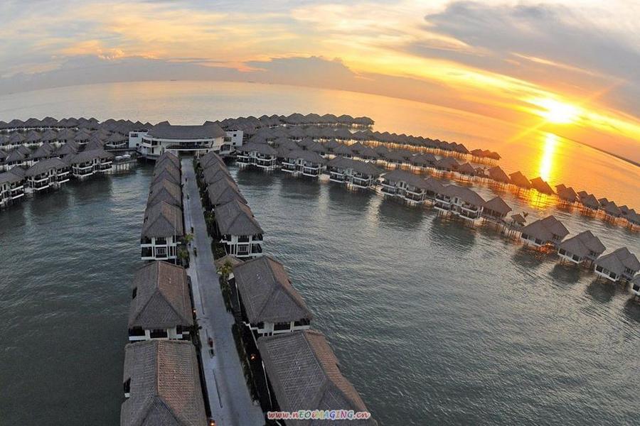 馬來西亞旅遊  嬉遊記~黃金棕櫚2晚、樂活SPA、漫遊馬六甲、運河遊船