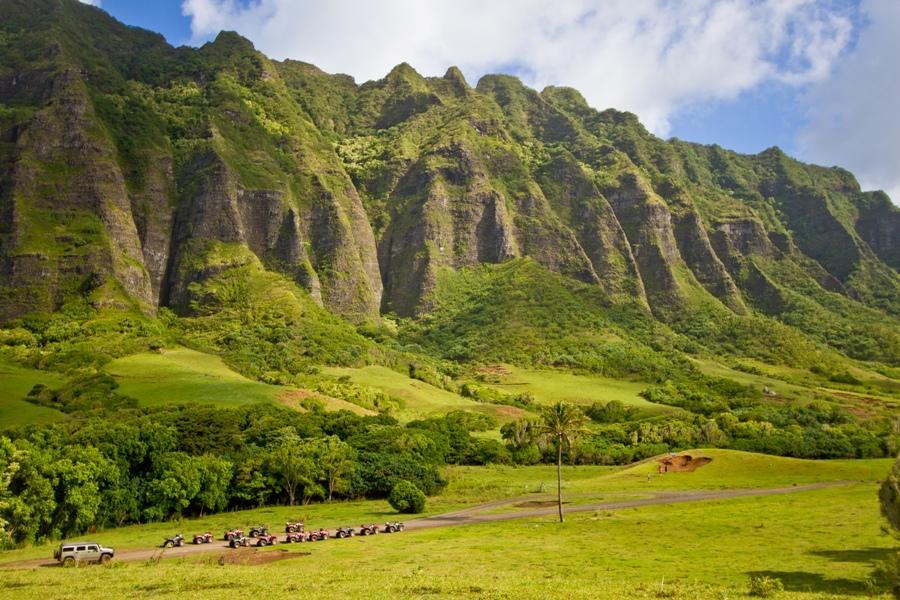 夏威夷~玻里尼西亞、古蘭尼牧場、密蘇里鑑、搖滾呼拉秀7日《2人成行》