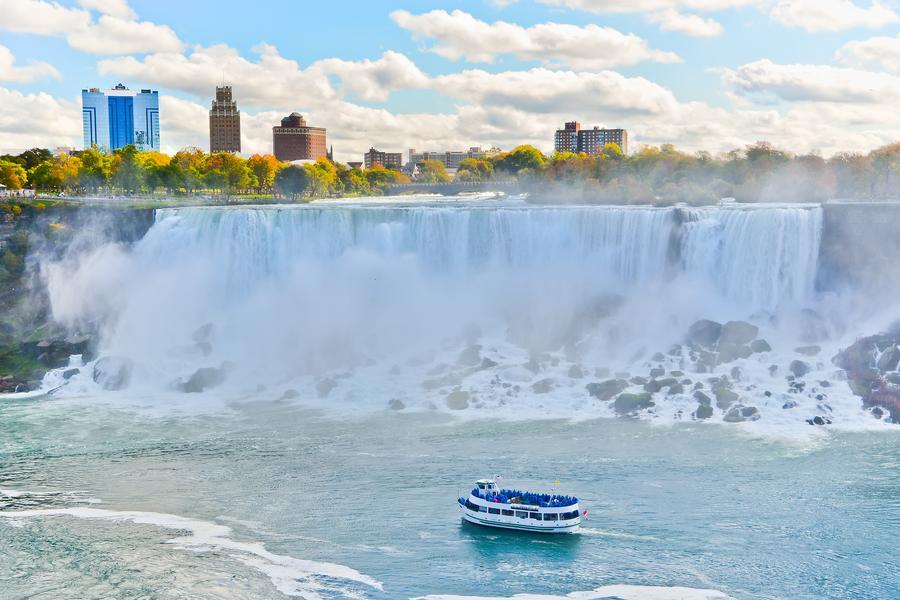 美東五大城~尼加拉瀑布面瀑房、雙遊船、六大風味餐、OUTLET10日
