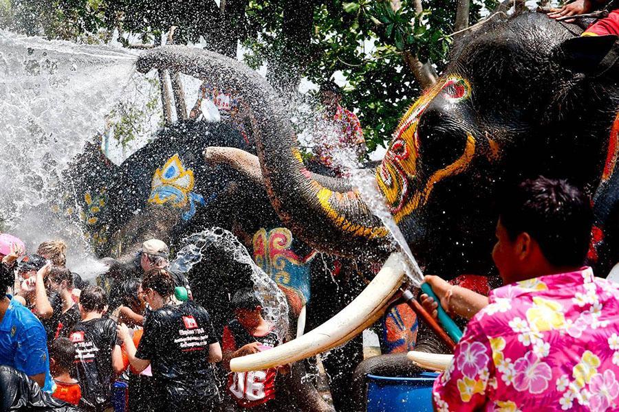 【泰國達人來帶路】泰式新年。水戰曼谷趣。潑水迎新年五日《無購物 含稅》