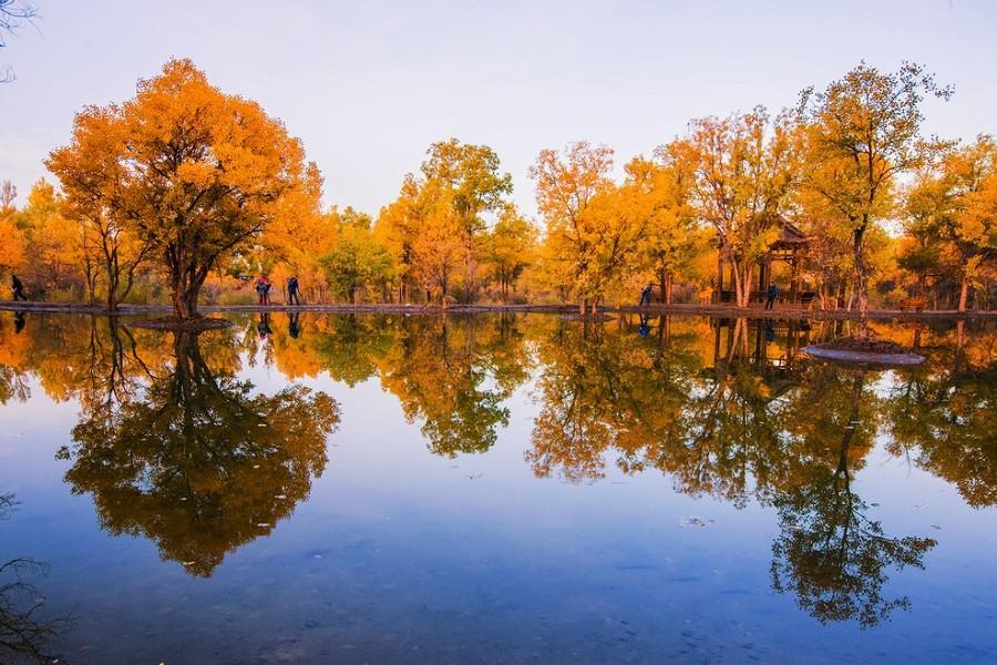 【季節限定】大美南疆、胡楊林、刀郎舞、卡拉庫里湖、紅其拉普口岸9日