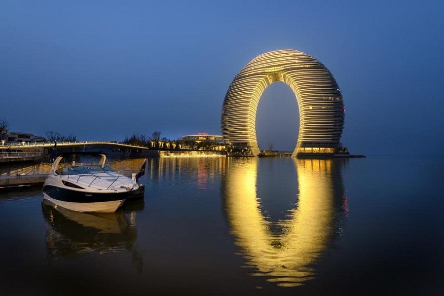 【尋夢江南太湖之月】上海第一高樓、喜來登自助餐、夜宿烏鎮、南潯古鎮5日