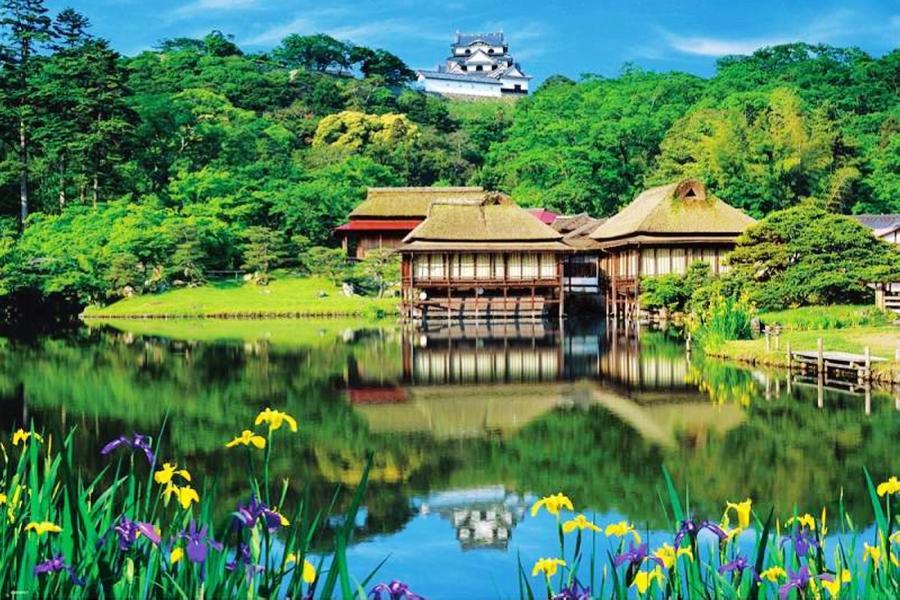 富山最美星巴克.花園牧場贈布丁.合掌村.兼六園.彥根城5日