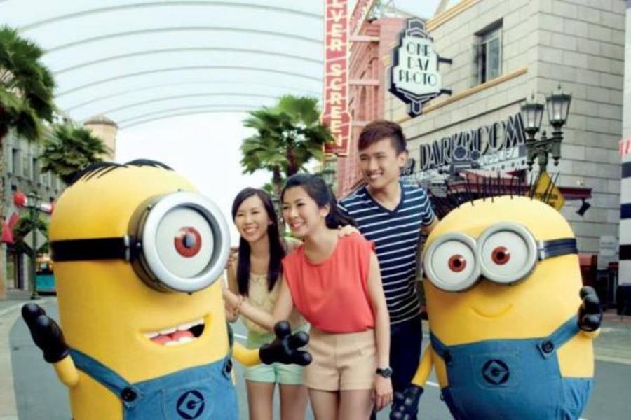 寵愛馬新~大紅花海上屋、大紅花內用餐、吉隆坡高塔、環球影城 5 日