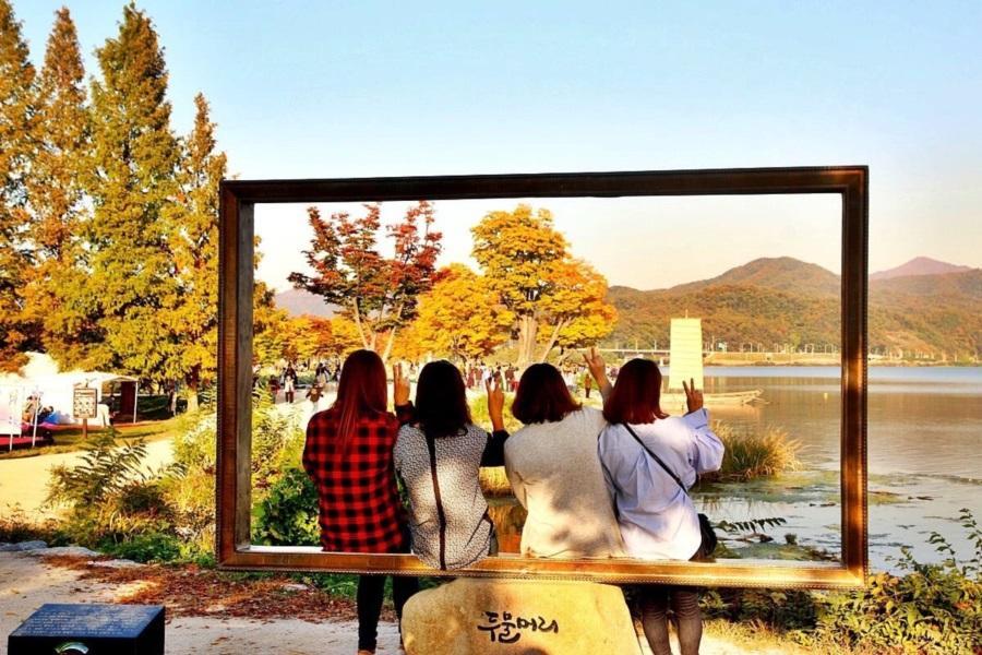 大韓心自遊.浪漫南怡島、兩水里、鐵道自行車、一日自由活動、購物兩站5日