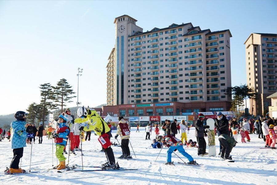 韓瘋滑雪超值GO~紅蔘汗蒸幕、普羅旺斯、望遠市場、漢江自助燒烤5日