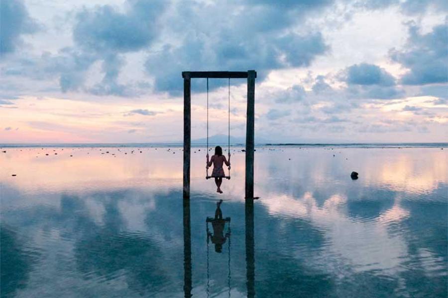 海洋天堂吉利島峇里島跳島輕旅行五日