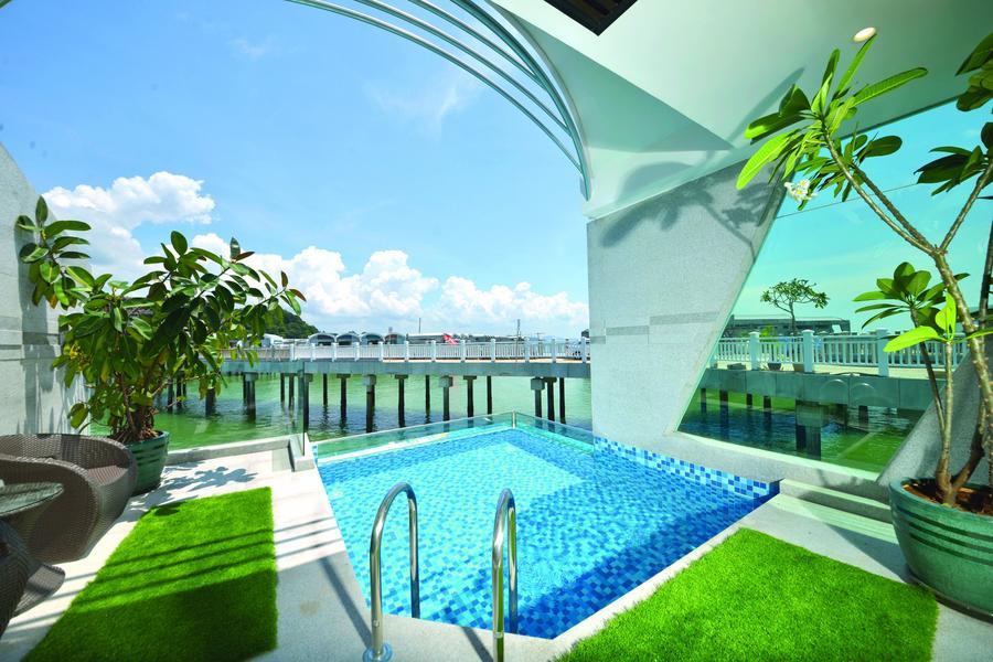 馬來西亞旅遊 | 新視界~大紅花水上屋、熱氣球、玻璃走廊、高空酒吧5日
