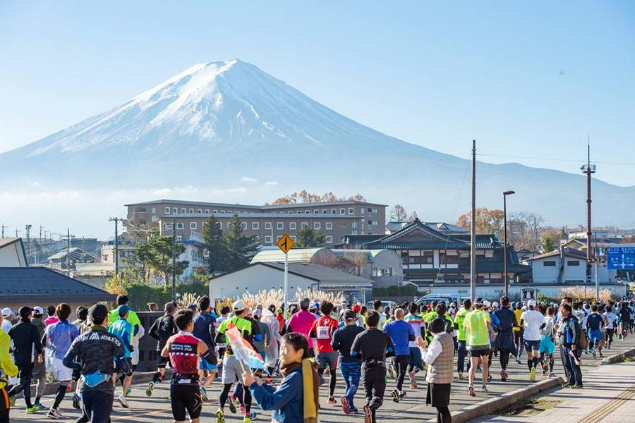 【主題旅遊】2019富士山馬拉松自由行5日