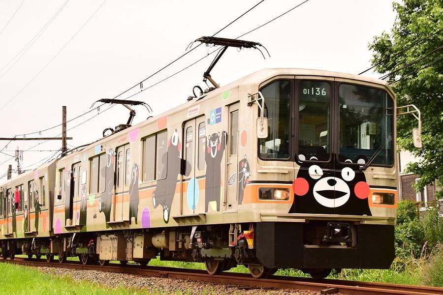 九州小鐵道★萌熊電車•太宰府旅人•熊部長辦公室•大觀峰展望台4日