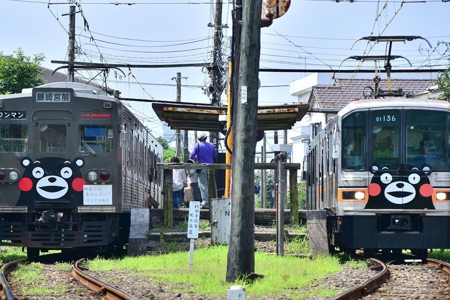 【九州小鐵道】熊本萌熊電車、太宰府旅人、湯布院小鎮、大觀峰展望台4日
