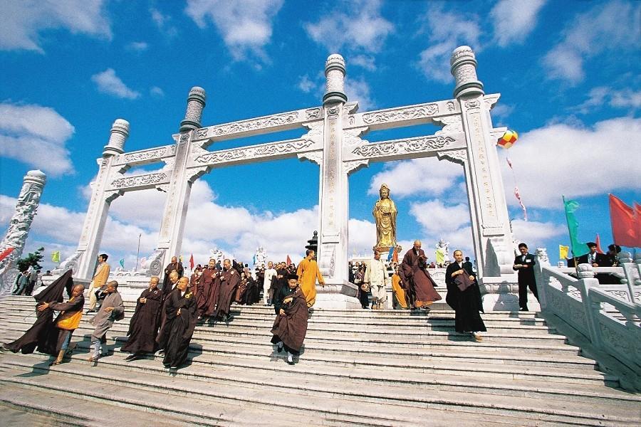 【佛教聖地】九華山、普陀山、東方日內瓦湖-太平湖8天