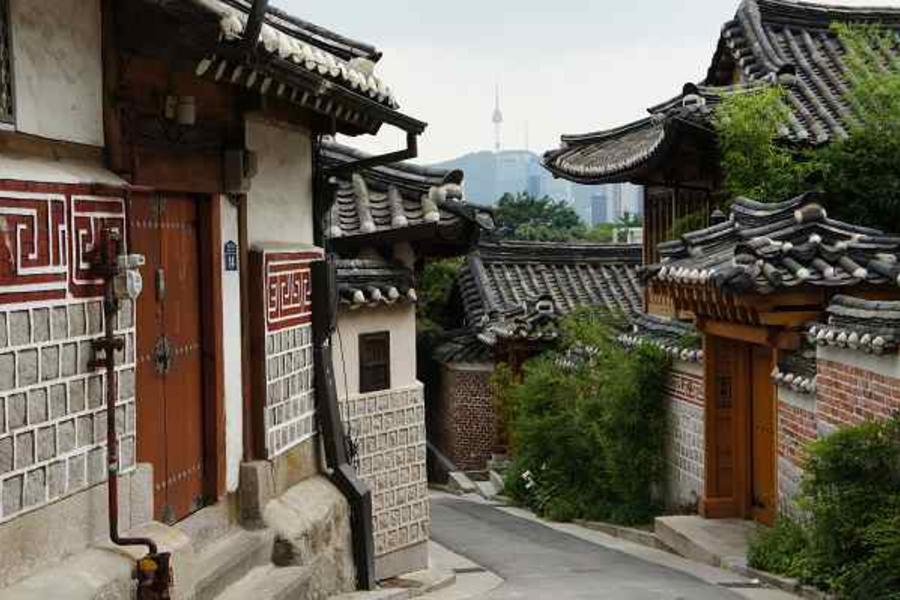 秋意韓國~愛寶樂園、南怡島、景福宮、汗蒸幕、葡萄酒莊、塗鴉秀5日