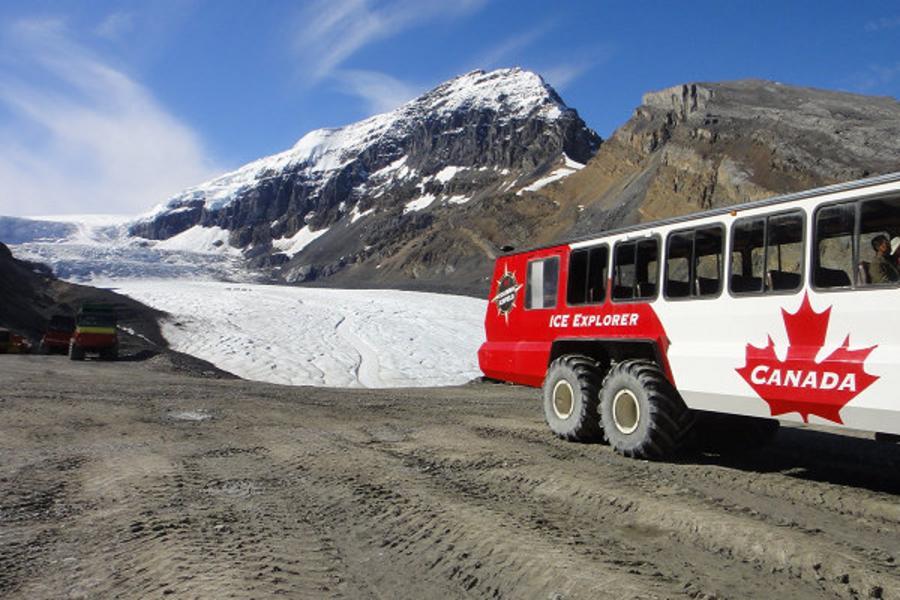驚艶加拿大洛磯山脈 五大國家公園、四大名湖、冰原雪車、冰川天空步道10