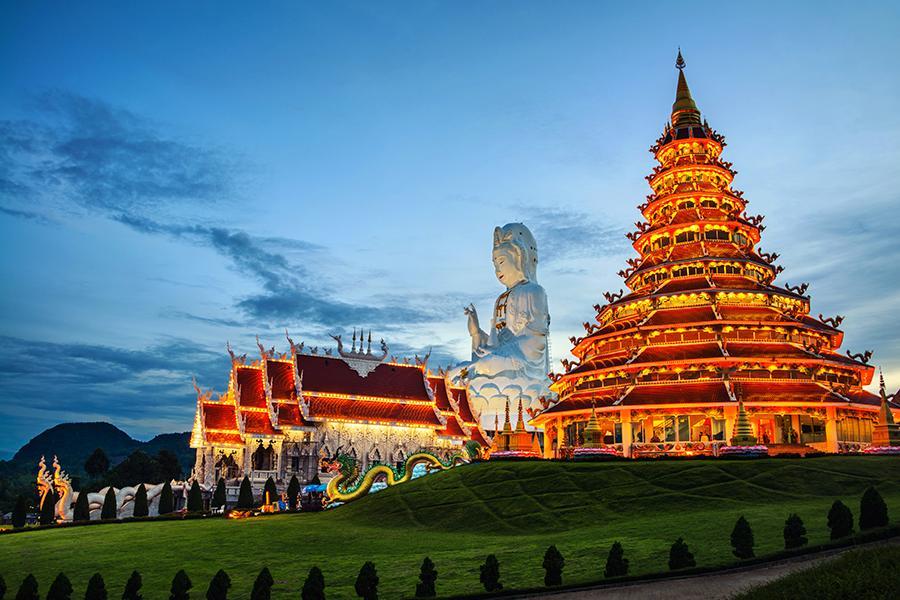 《清邁FUN輕鬆》蘭納古城、船遊湄公河 清邁5日遊《含稅簽》