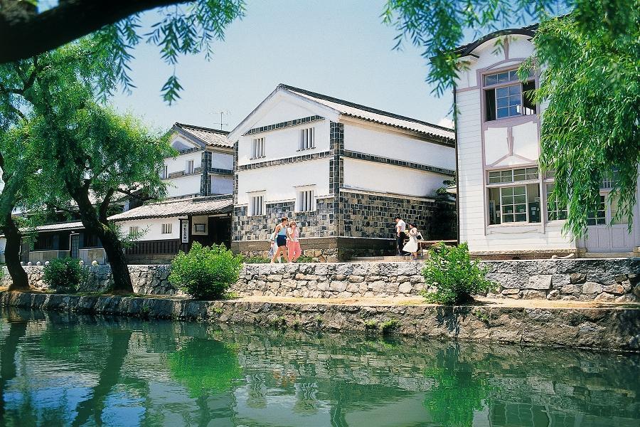 【四國松山】神戶、姬路城、岡山桃太郎、倉敷、大步危船、道後本館5日