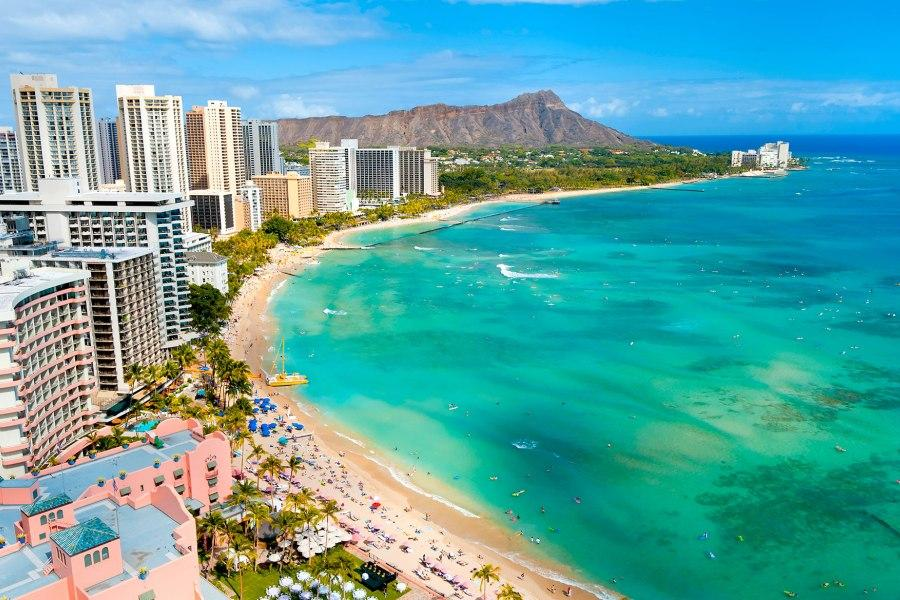 夏威夷5日~珍珠港、浪漫愛之船、瓦柯雷OULLET《2人成行》(含稅)