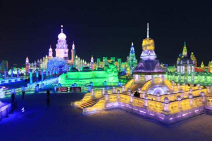 【華信假期】童話雪鄉、伏爾加莊園、百年鐵路玻璃橋、冰雪世界、東北八日