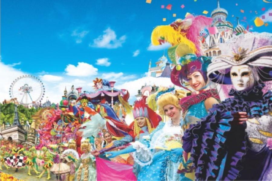 【贈送每房一份炸雞】樂韓國~愛寶樂園、冰雪樂園、五彩星光村、塗鴉秀5日