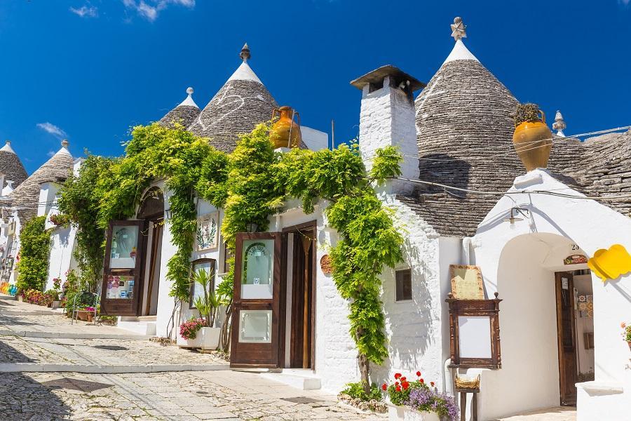 【賺很大】義大利南北全覽、卡不里島、蘑菇村、天空之城、雙高速列車14日