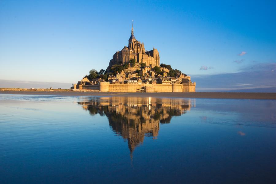 【旗艦典藏】法國聖米歇爾山、莎特爾燈光節、羅亞爾河三堡、必遊雙宮10日