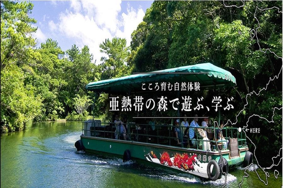 【沖繩極享受】保住希爾頓飯店、海博館、古宇利塔、BIOS森林遊船四日