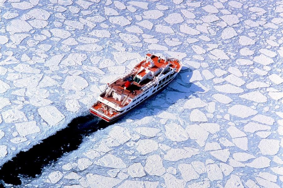 【酷玩冰鑽北海道】網走流冰船、然別湖冰上村、雪國冰瀑祭6日