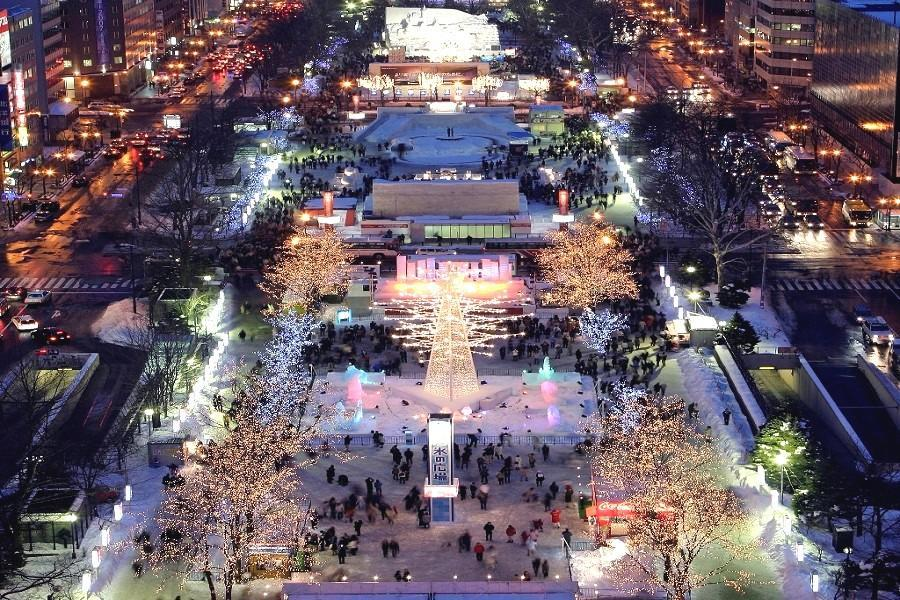 【北海道冰雪奇緣】札幌雪祭.北方雪樂園.函館山夜景.尼克斯海洋公園5日