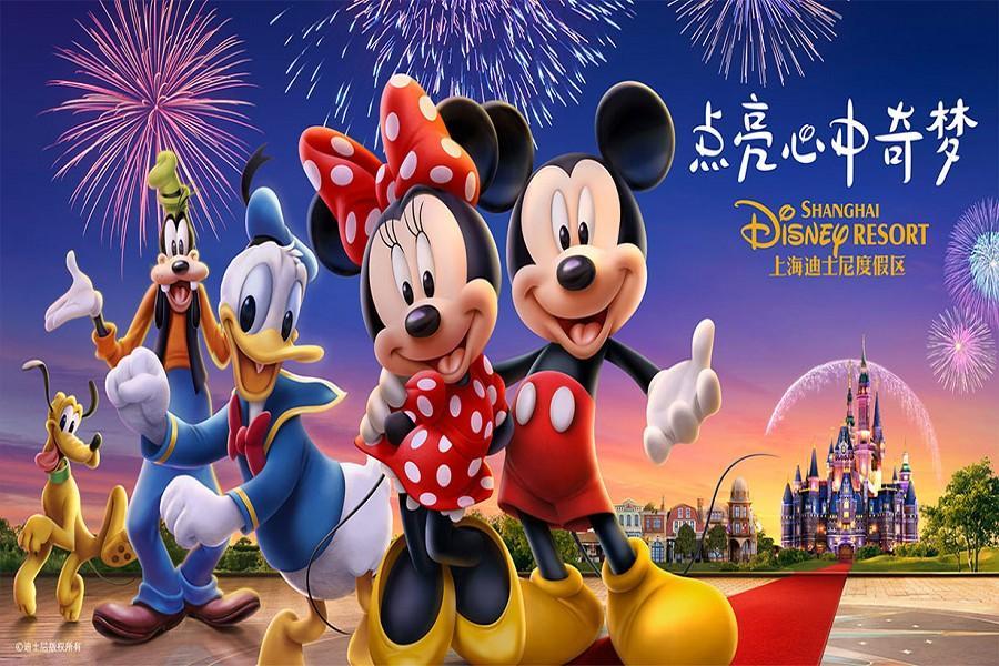 鼠來寶~奇幻迎新年~上海迪尼樂園、園林豫園、杭州西湖、太陽馬戲秀5日
