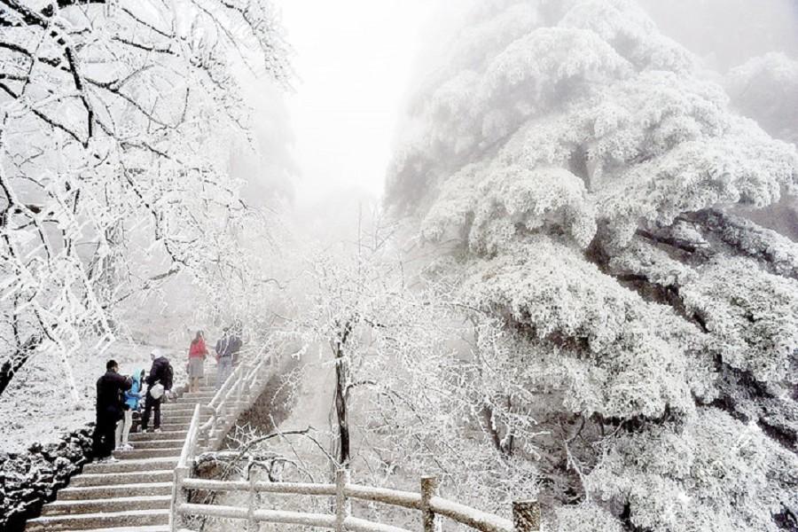鼠來寶~冬雪童話世界、黃山美景、宏村5日 (贈徽韻秀)