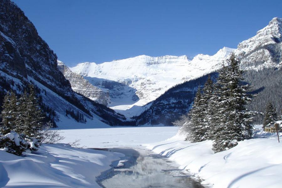 【賞雪】冬遊加拿大洛磯山脈、露易絲湖、班夫小鎮、纜車8日