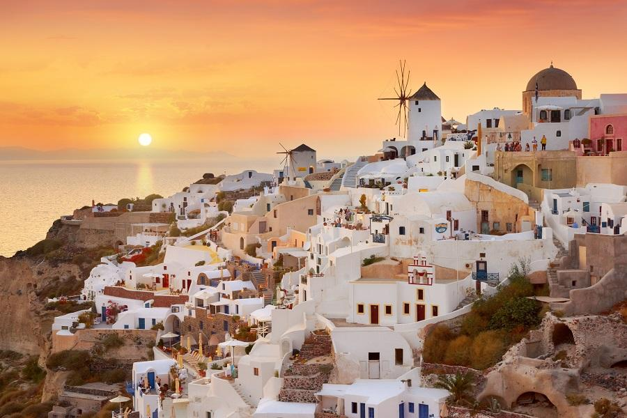 【震撼低價】希臘雅典衛城、五島(聖多里尼+米克諾斯、一日三島)10日