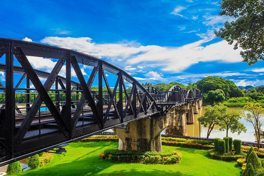 【泰國祕境探索】茉莉之城、桂河鐵路火車搭乘、一晚五星水上屋六日《含稅》