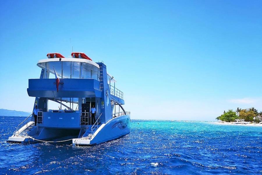 【宿霧愛之夢】豪華遊艇~海釣浮潛~薄荷島一日遊【含稅簽】【無購物】