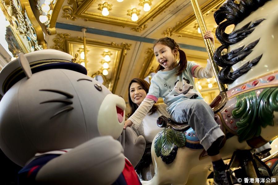 【暢玩雙樂園】香港迪士尼樂園、海洋公園、IG打卡熱點三日
