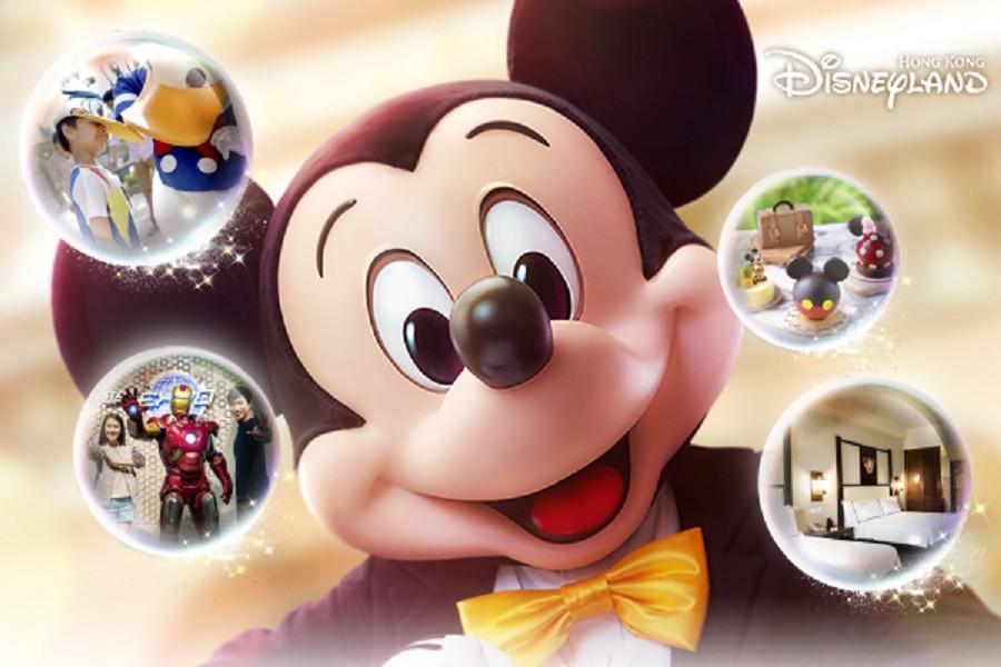 【飛躍奇妙】香港迪士尼樂園主題酒店「門票升級百元購」自由行3日(含樂園1日門票)未稅