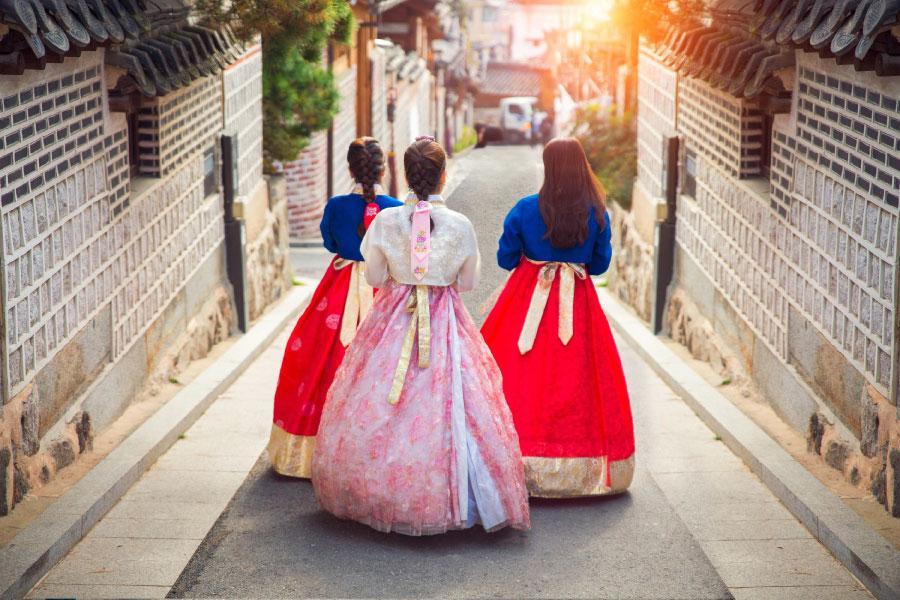 【閨蜜 i 自遊】韓國N首爾塔+體驗韓服半日遊自由行5日(可續住延回-國泰航空)
