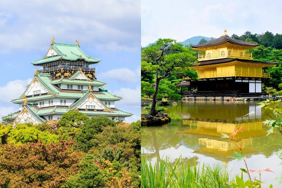 【漫遊京阪雙城】大阪+京都自由行5日(國泰航空-可續住延回)
