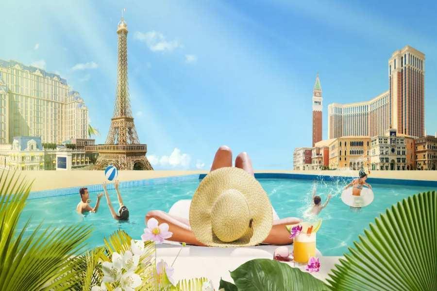 【澳門航空】澳門喜來登、巴黎人、威尼斯人酒店自由行4日(送好禮3合1)未稅