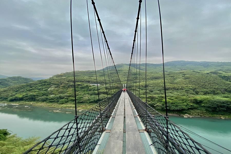大板根森林、角板山公園、秘境吊橋,森呼吸一日遊