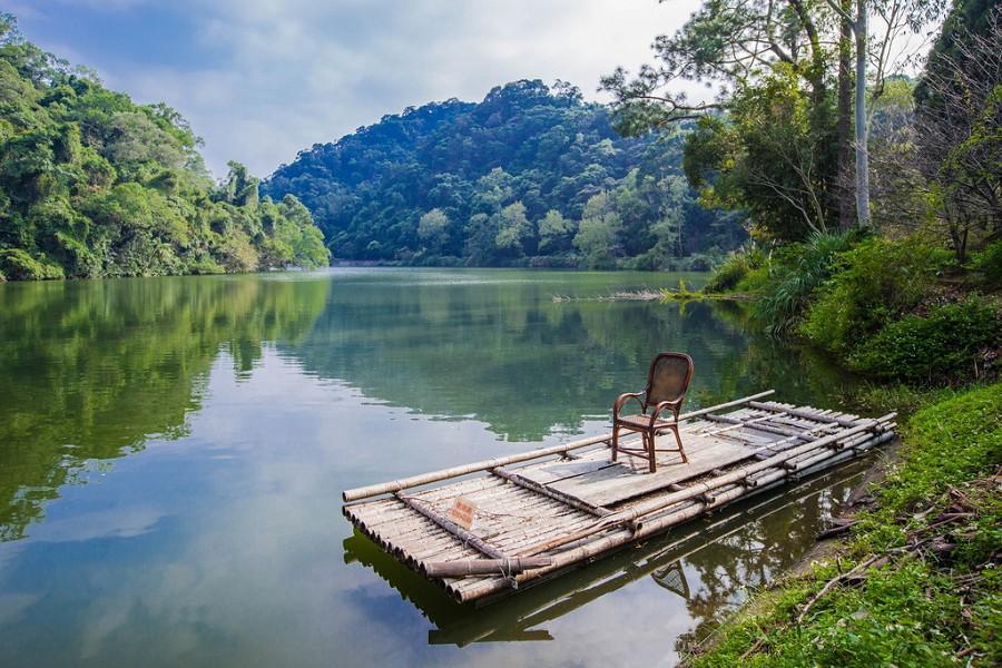 【桃園大溪】揭開後慈湖秘境步道、漫遊木藝職人老街、彩色海洋奇芋記一日