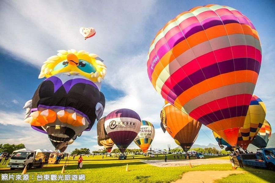 【台東2021國際熱氣球嘉年華】五星喜來登住一晚+豪華自助晚餐、鸞山部落會走路的樹、鹿野神社2日