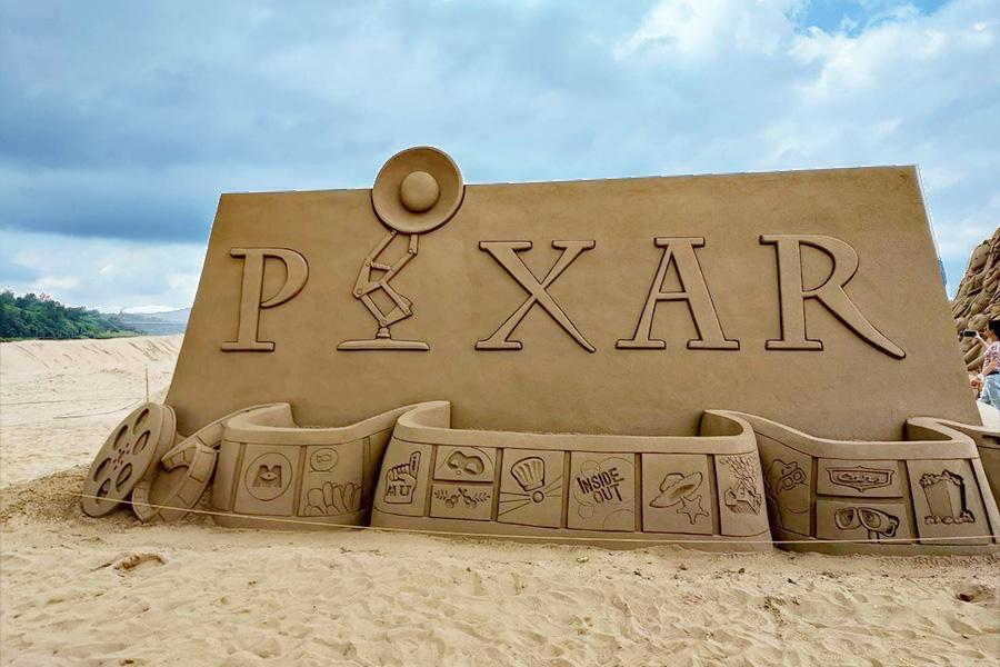 【重溫皮克斯經典】玩具總動員2021福隆沙雕藝術季、礁溪湯圍溝溫泉一日