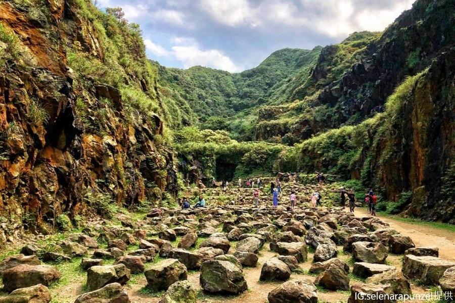 金瓜石謎樣石頭陣、忘憂谷約會聖地、潮境公園一日遊