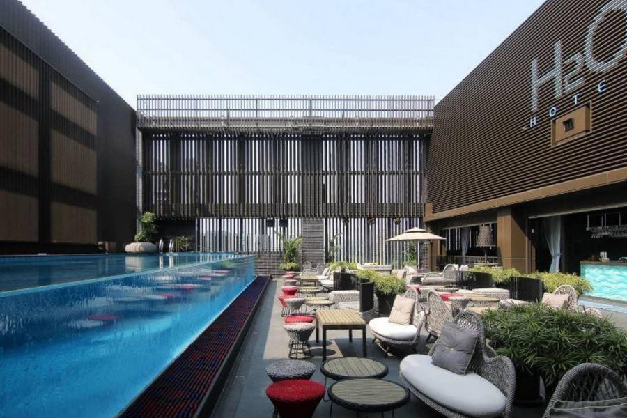 和運假期-H2O水京棧國際酒店含早+2日租車