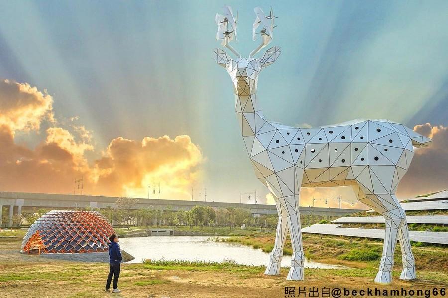 【府城訪古知新】安平、光彩繡莊、司法博物館、綠能梅花巨鹿、新化老街二日