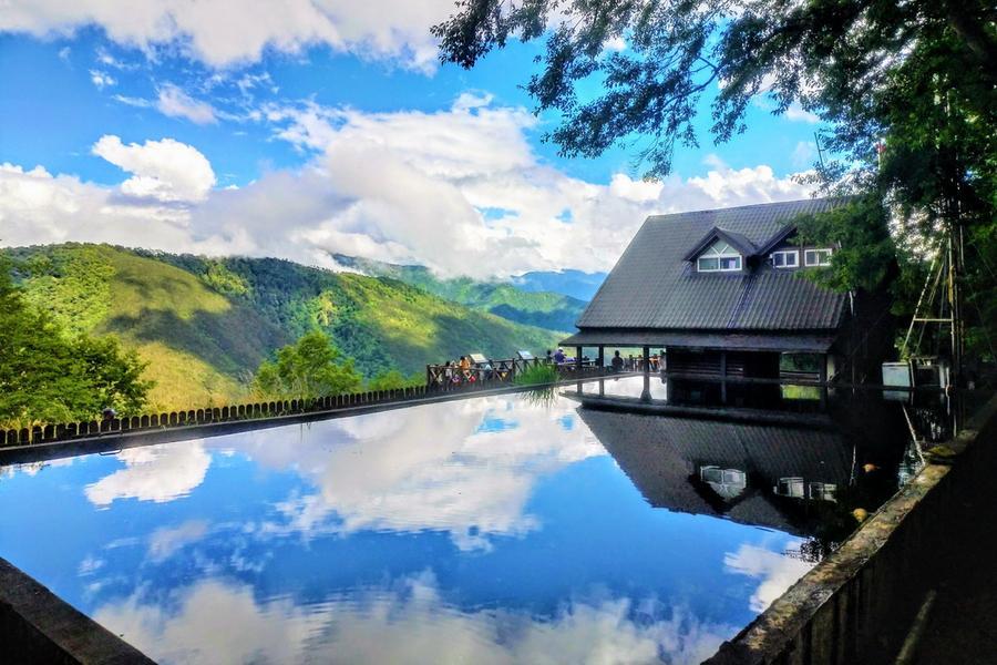 【東南賓士車】冬山河生態綠舟、武陵北谷天空之鏡、福壽山農場天池二日