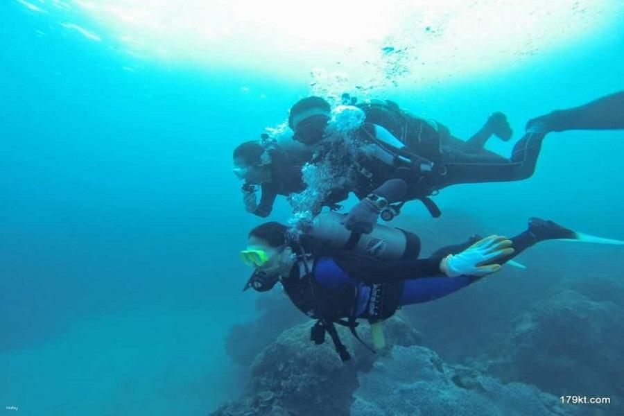 【墾丁】後壁湖|水肺潛水・岸潛潛水體驗
