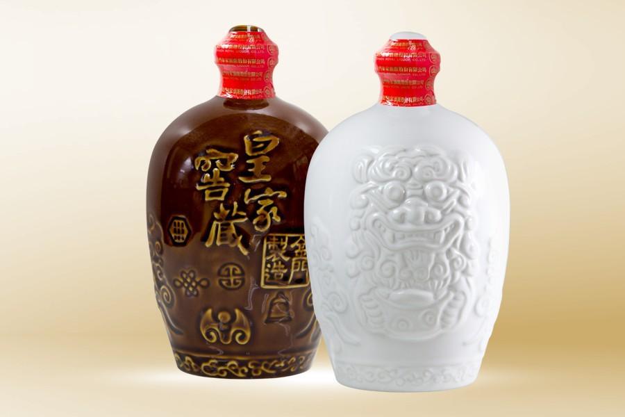 皇家窖藏風獅爺(古銅色、白色)58度-750ML