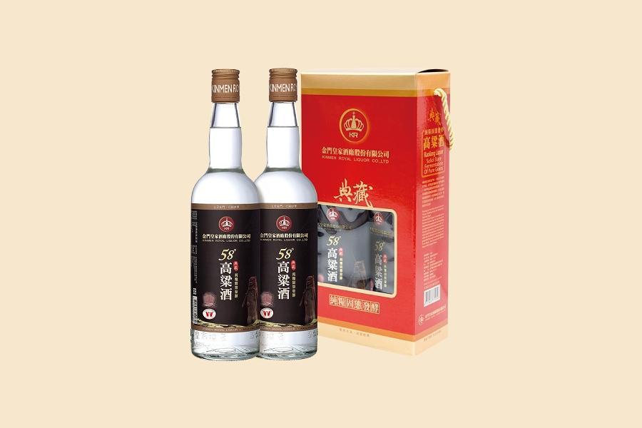 典藏高粱酒58度-600ML(2入)